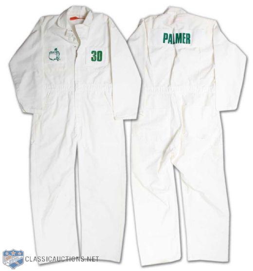 Lot Detail Masters Golf Tournament Arnold Palmer Caddy Jumpsuit