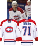 Mike Ribeiros 2002-03 Montreal Canadiens Game-Worn Jersey Obtained from Team with LOA