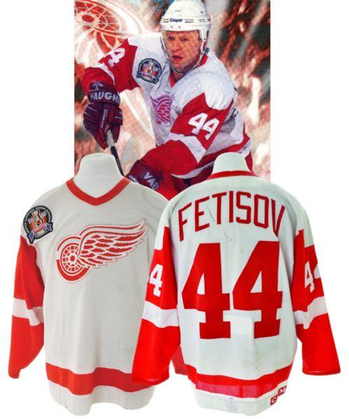Lot Detail - Viacheslav Fetisov s 1994-95 Detroit Red Wings Game ... aa1604085