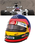 Jacques Villeneuve's 2000 Lucky Strike BAR Honda F1 Team Bell Race-Worn Helmet with His Signed LOA – French Grand Prix