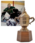 "Ed Belfours 1999-2000 Dallas Stars Clarence Campbell Bowl Championship Trophy (11"")"
