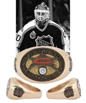 Ed Belfours 1993 NHL All-Star Game 14K Gold and Diamond Ring