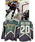 Ed Belfours 1998-99 Dallas Stars Stanley Cup Finals Game-Worn Jersey - Photo-Matched!