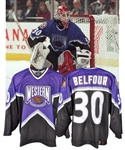 Ed Belfours 1996 NHL All-Star Game Western Conference Game-Worn Jersey