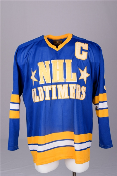 Harry Howells NHL Oldtimers Game-Worn Jersey