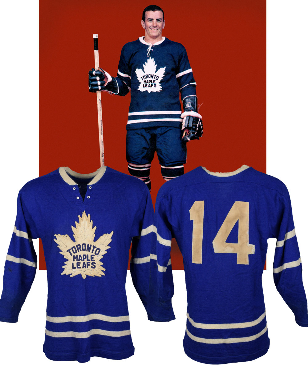 5d5f820fee1 Lot Detail - Dave Keon's 1960-61 Toronto Maple Leafs Game-Worn ...