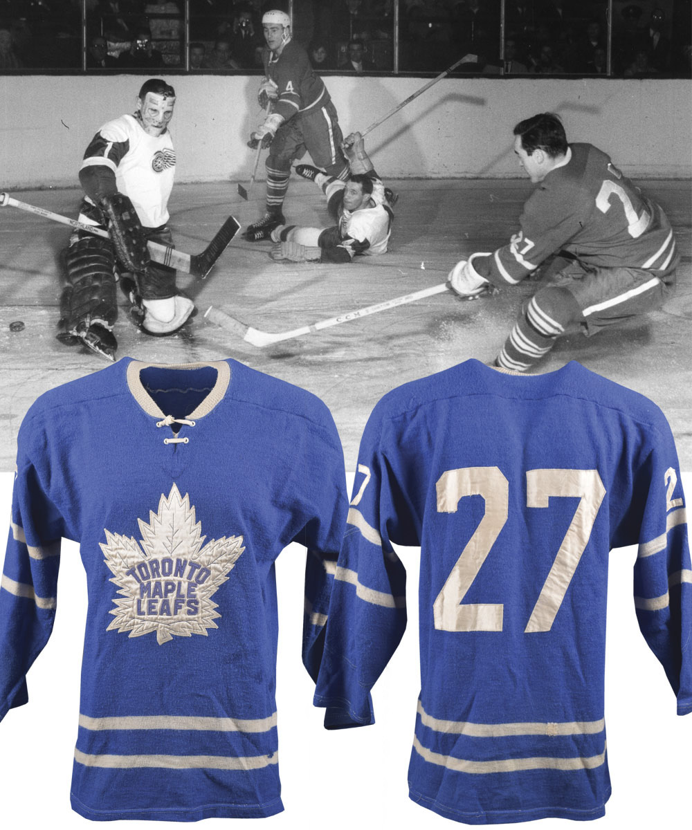3fac90f6b80 Lot Detail - Frank Mahovlich's Early-to-Mid-1960s Toronto Maple ...