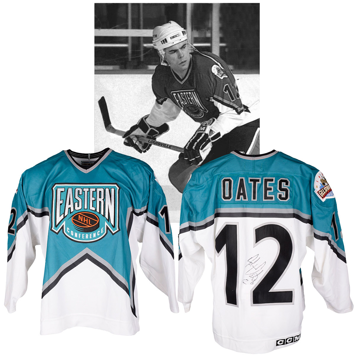 Lot Detail - Adam Oates  1994 NHL All-Star Game Eastern Conference ... ab20116f028