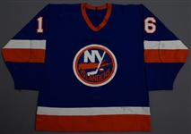 Lot Detail - Pat LaFontaine s 1983-84 New York Islanders Game-Worn ... 1bf026416
