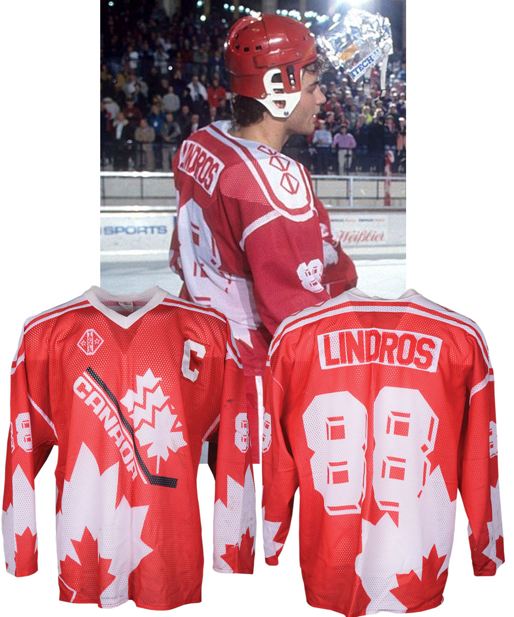 Lot Detail Eric Lindros 1991 92 World Junior Championships Team