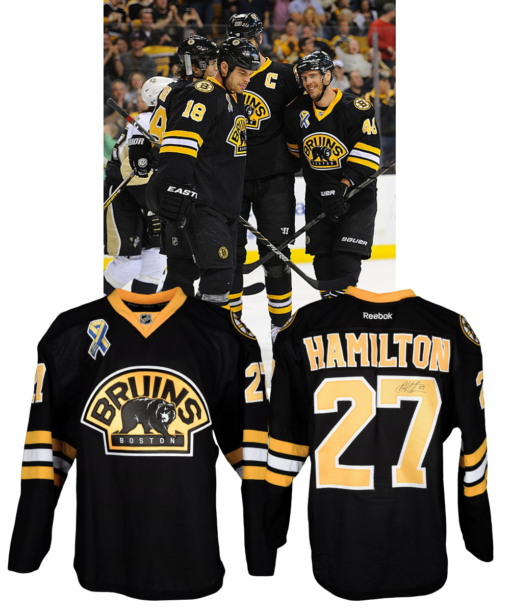 Dougie Hamilton's 2012-13 Boston Bruins