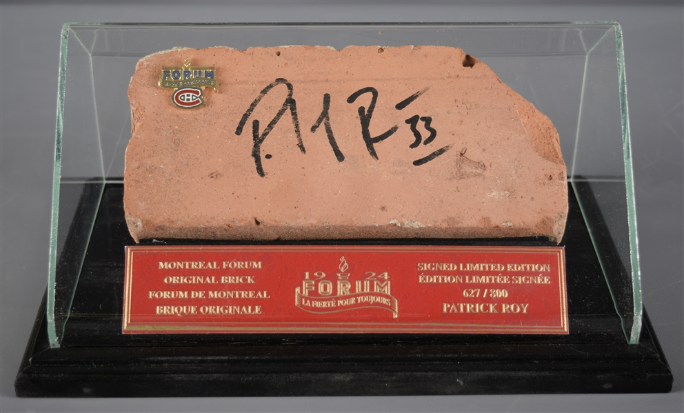 Lot Detail Patrick Roy Signed Montreal Forum Limited