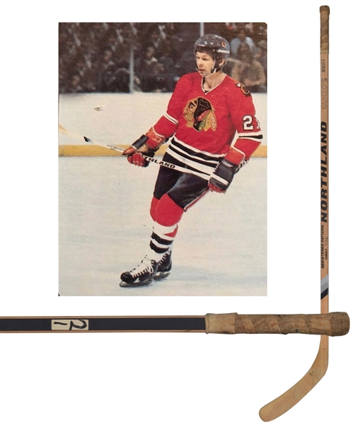 Lot Detail - Stan Mikita s Late-1970s Chicago Black Hawks Northland ... 3bc75b6ba