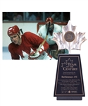 "Gordon ""Red"" Berensons Team Canada 1972 ""Team of the Century"" Trophy with His Signed LOA (13 1/2"")"