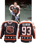 Doug Gilmours 1993 NHL All-Star Game Campbell Conference Signed Game-Worn Jersey with His Signed LOA