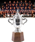"Bryan Trottiers 1978-79 New York Islanders Clarence Campbell Bowl Championship Trophy with Family LOA (11"")"