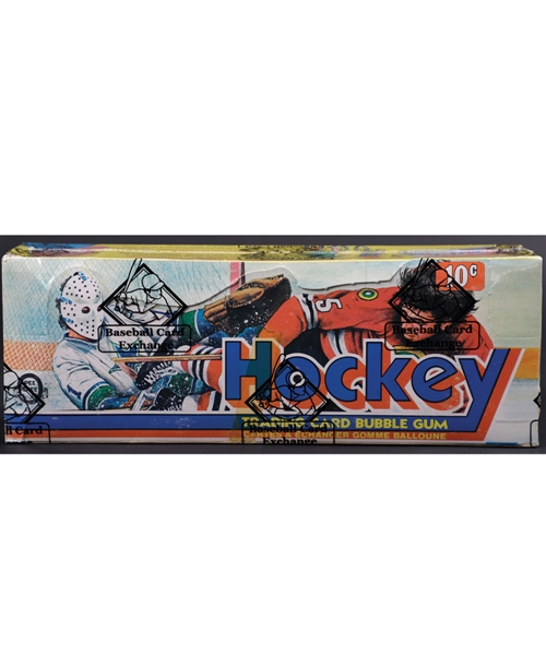 1975-76 O-Pee-Chee Hockey Wax Box (48 Unopened Packs) - BBCE Certified - Numerous HOFers and Rookies Included