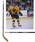 "Ray Bourques 1999-2000 Boston Bruins ""1,100th NHL Assist"" Game-Used Stick with His Signed LOA"