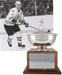 "Ray Bourques 1985-86 Boston Bruins Elizabeth DuFresne Trophy with His Signed LOA (18"")"