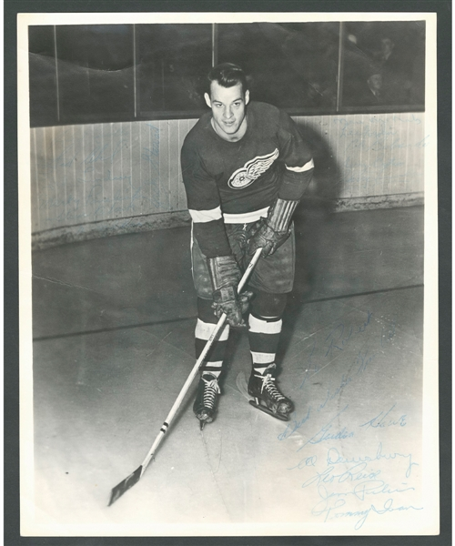 1949-50 MONTREAL CANADIENS 8X10 TEAM PHOTO PICTURE
