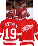 Steve Yzerman's 1984-85 Detroit Red Wings Game-Worn Jersey from the Michael Wexler Collection with LOA – Photo-Matched!