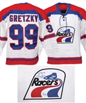 Wayne Gretzky Signed Indianapolis Racers Limited-Edition Home Jersey #1/250 with UDA COA