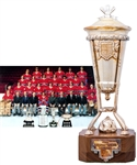 "Bob Gaineys 1975-76 Montreal Canadiens Prince of Wales Championship Trophy from His Personal Collection with His Signed LOA (13"")"