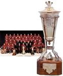 "Bob Gaineys 1985-86 Montreal Canadiens Prince of Wales Championship Trophy from His Personal Collection with His Signed LOA (13"")"