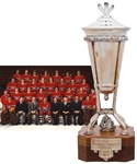 Bob Gaineys 1978-79 Montreal Canadiens Prince of Wales Championship Trophy from His Personal Collection with His Signed LOA