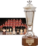 "Bob Gaineys 1976-77 Montreal Canadiens Prince of Wales Championship Trophy from His Personal Collection with His Signed LOA (13"")"