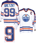 Wayne Gretzky Signed Edmonton Oilers Captains Jersey from WGA