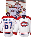 Max Paciorettys 2012-13 Montreal Canadiens Game-Worn Jersey with Team LOA - Photo-Matched!