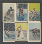 Chicago Black Hawks 1952-53 Parkhurst Hockey Cards (12) Including Gadsby and Mosienko Plus 1935 Lorne Chabot Time Magazine, Vintage Photos (3) and Team Pictures (5)