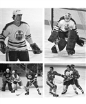 Edmonton Oilers 1979-80 B&W 35mm Negative Collection of 1439 Including 108 Images of Wayne Gretzky