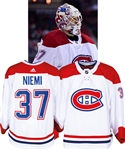 Antti Niemis 2017-18 Montreal Canadiens Game-Worn Jersey with Team LOA - Photo-Matched!