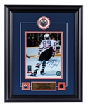 "Wayne Gretzky Signed Edmonton Oilers Framed ""99"" Photo Display with WGA COA (17"" x 21"")"