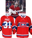 Carey Price's 2018-19 Montreal Canadiens Practice/Game-Worn Jersey with Team LOA - Now Photo-Matched