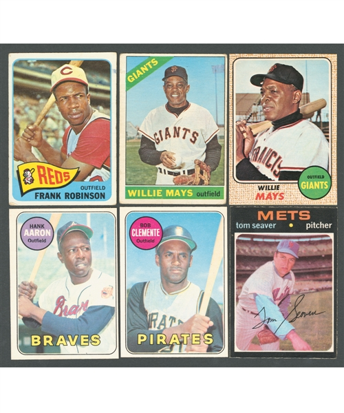 1965 to 1980 O-Pee-Chee Baseball Card Collection of 2100+ with Numerous Stars and Semi-Stars