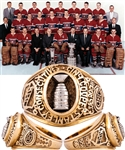 Camil DesRoches Montreal Canadiens 1956-60 Five Consecutive Stanley Cups 10K Gold Ring with LOA