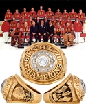 Jim Pappins 1969-70 Chicago Black Hawks NHL League Championship 10K Gold and Diamond Ring