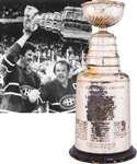 "Yvon Lamberts 1977-78 Montreal Canadiens Stanley Cup Championship Trophy with His Signed LOA (13"")"