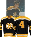 Bobby Orrs 1970-71 Boston Bruins Game-Worn Jersey with His Signed LOA - Numerous Team Repairs! - Hart Memorial Trophy and James Norris Trophy Season! - Photo-Matched!