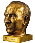 "Dick Irvin Sr. 1982 Bronze Bust Displayed at the Montreal Forum and Molson Centre/Bell Centre (12"")"