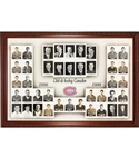 Huge Montreal Canadiens 1998-99 Framed Master Team Photo from the Molson Centre