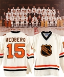Anders Hedbergs 1979 Challenge Cup NHL All-Stars Game-Worn Jersey with His Signed LOA