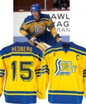 Anders Hedbergs 1981 Canada Cup Team Sweden Game-Worn Captains Jersey with His Signed LOA
