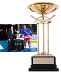 Anders Hedbergs 2014-15 New York Rangers Presidents Trophy with His Signed LOA