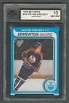 1979-80 Topps Hockey Card #18 HOFer Wayne Gretzky Rookie - Graded KSA 10 Gem Mint